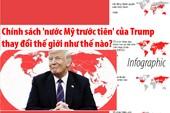 Chính sách 'nước Mỹ trước' của Trump thay đổi thế giới ra sao?