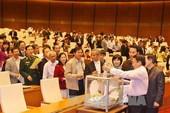 Quốc hội mời các bộ trưởng nghe kết quả lấy phiếu tín nhiệm