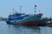Hạ thủy tàu vỏ thép đóng theo sáng kiến của ngư dân