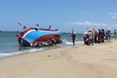 Quảng Ngãi: Tai họa biển bồi, ngư dân khốn đốn