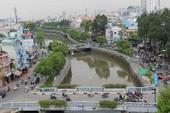 Dự án Nhiêu Lộc - Thị Nghè vẫn lún sụt