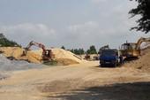 Chịu hết nổi 11 cơ sở kinh doanh cát gây ô nhiễm