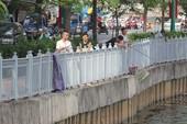 Nạn câu cá tái diễn ở kênh Nhiêu Lộc