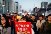 Hàn Quốc biểu tình đòi bắt giam bà Park Geun-hye