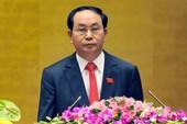 Chủ tịch nước Trần Đại Quang thăm TQ từ ngày 11-5