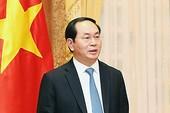 Chủ tịch nước Trần Đại Quang trả lời báo chí Trung Quốc