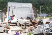 Thảng thốt xóm nghèo Tây Bắc sau bão