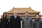 Trung Quốc long trọng đón tiếp ông Trump