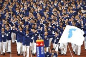 2 miền Triều Tiên cùng đồng phục tại Olympic mùa đông