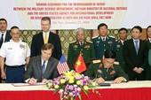 Việt Nam, Hoa Kỳ ký bản ghi nhận về xử lý dioxin
