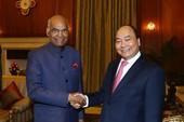 Thủ tướng Nguyễn Xuân Phúc hội kiến tổng thống Ấn Độ