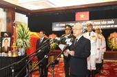 Vĩnh biệt nguyên Thủ tướng Phan Văn Khải