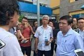 Nhiều lãnh đạo thăm hỏi nạn nhân vụ cháy chungcư Carina