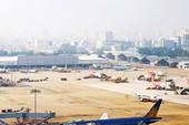 Công trình dày đặc bít thoát nước sân bay Tân Sơn Nhất