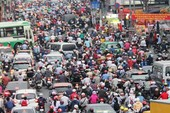 Tiếp tục kiến nghị hạn chế xe cá nhân để giảm ùn tắc