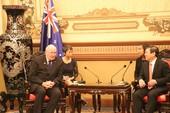 Chủ tịch Nguyễn Thành Phong tiếp toàn quyền Úc
