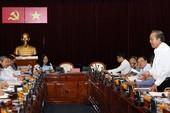 Ông Trương Hòa Bình làm việc với Ban Thường vụ Thành ủy TP.HCM