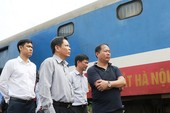 Xử lý người đứng đầu để xảy ra tai nạn đường sắt