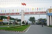 Biên Hòa sẽ xây nhiều tuyến đường xuyên tâm để giảm ùn tắc