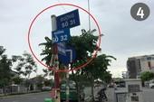 Biển báo giao thông đánh đố người đi đường