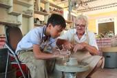 Xưởng gốm đặc biệt của ông Tây ở Huế