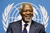Kofi Annan: Huyền thoại từ 'lục địa đen'
