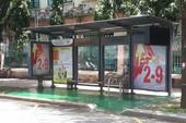 TP.HCM: Lắp đặt nhà chờ xe buýt kiểu mới hiện đại
