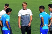 Cựu tiền đạo Nhật Honda muốn nâng cấp bóng đá Campuchia