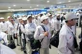 Hơn 1.500 lao động bất hợp pháp tại Hàn Quốc về nước