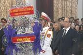Lễ viếng nguyên Tổng Bí thư Đỗ Mười tại TP.HCM