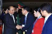 Thủ tướng đến Tokyo dự hội nghị Mekong-Nhật Bản