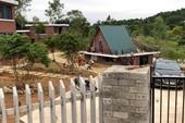 Rừng Sóc Sơn bị băm nát làm biệt thự, khu nghỉ dưỡng