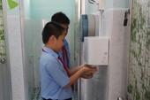 Thích thú với nhà vệ sinh 'hạng sang' ở trường học
