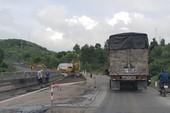 Chậm khắc phục hư hỏng quốc lộ 1 qua Phú Yên