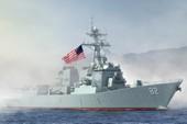 Tàu chiến Mỹ hoàn thành áp sát đảo nhân tạo 'bình an vô sự'