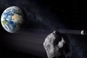 Thiên thạch bằng 40 sân bóng sẽ sượt ngang Trái đất
