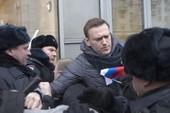 Nhà hoạt động đối lập Nga bị bắt vì biểu tình trái phép