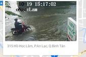 Nhiều phương án giải cứu điểm ngập nặng nhất Bình Tân
