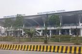 Cháy tủ điện ở sân bay Nội Bài