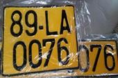 Đề xuất chuyển biển số ô tô từ trắng sang vàng