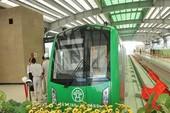 Đóng điện, chạy thử đoàn tàu Cát Linh-Hà Đông tháng 8-2018
