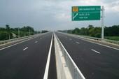 Đi cao tốc Bắc-Nam mất 1.500 đồng/km