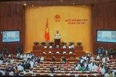 Quốc hội đang kiểm phiếu tín nhiệm đối với 48 người