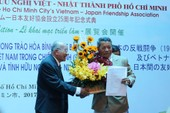 Kỷ niệm 25 năm thành lập Hội Hữu nghị Việt-Nhật TP.HCM