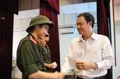 Đoàn đại biểu TP.HCM thăm hỏi, động viên các tân binh