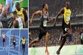 Usain Bolt 'cười duyên' cùng đối thủ Andre De Grasse