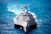 Chiến hạm Mỹ thực hiện bảo dưỡng viễn chinh ở Cam Ranh