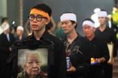 Gia đình cụ Hoàng Thị Minh Hồ tặng lại tiền phúng điếu