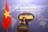 Bộ Ngoại giao: Luật An ninh mạng  phù hợp với hiến pháp