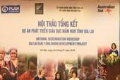 7,2 triệu USD phát triển giáo dục cho trẻ mầm non Gia Lai